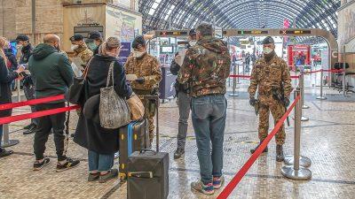 Coronavirus-Epidemie schränkt Lebensalltag und Reiseverkehr in ganz Europa ein