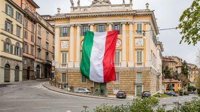 Corona-Pandemie im Newsticker 26. April: Todeszahlen in Italien unter 300 gefallen – Großbritannien meldet weniger neue Tote