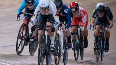 Bahnrad-WM: Hinze krönt sich zur Dreifach-Weltmeisterin