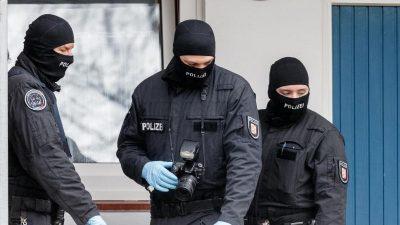 Großrazzia gegen mutmaßliche Waffen- und Drogenhändler in Berlin und Brandenburg