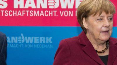 Handwerk überreguliert und verärgert – Merkel sagte Treffen mit Verband wegen Coronavirus ab