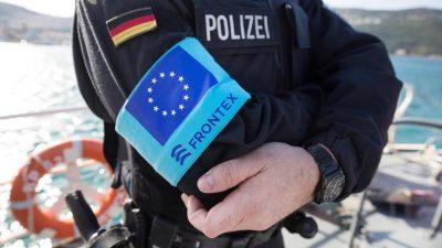 Verstärkte Einheiten von Frontex an griechisch-türkischer Grenze