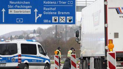 Bundespolizei sieht Leistungsfähigkeit durch Covid-19 bedroht