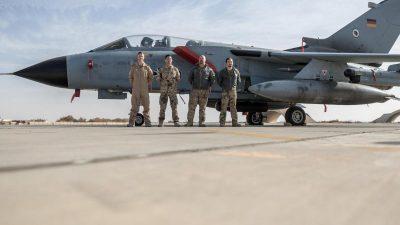 Italien kann keine nahtlose Ablösung der deutschen Tornado-Aufklärungsflüge im Irak gewährleisten