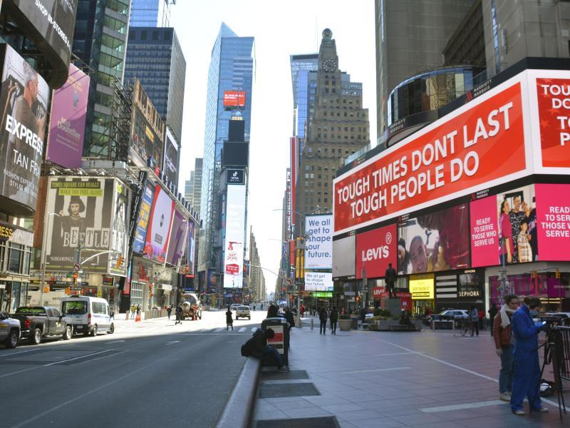 Mob greift jüdischen Mann am New Yorker Times Square an
