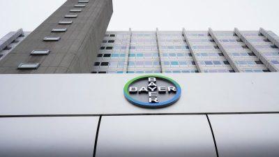 Bayer akzeptiert Vergleich um Unkrautvernichter