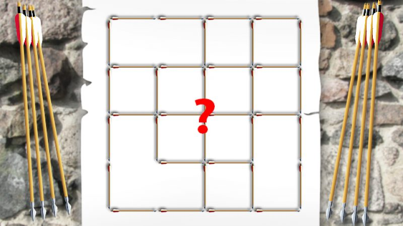 Quadrate und Pfeile