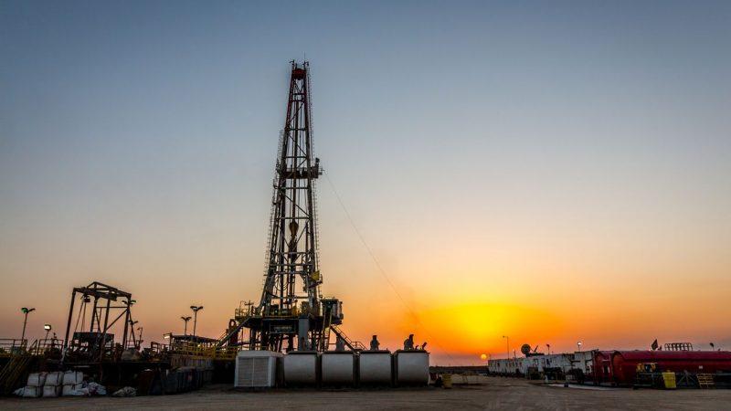 Öl und Erdgas aus Fracking.
