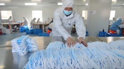 Chinesischer Makler: Viele Maskenfabriken in China erfüllen nicht die Hygiene- und Qualitätsstandards