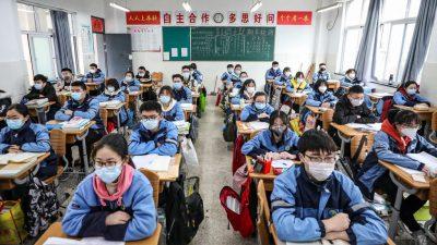 China plant Neustart der Schulen – Ansteckungsgefahr durch asymptomatisch erkrankte Schüler bleibt