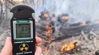Tschernobyl: Erhöhte Radioaktivität in Gegend um AKW-Ruine nach Ausbruch von Waldbränden