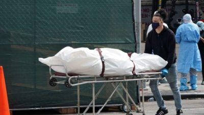 Bestattungsinstitute in New York arbeiten während der Pandemie mit maximaler Kapazität