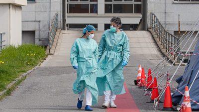 Corona-Pandemie im Newsticker 19. April: Deutschland: Zahl der Toten und aktiv Erkrankten werden immer geringer – Italien: Rückgang von Sterbezahlen