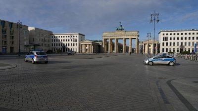 Weniger Raub und Diebstahl – Berliner Polizei während Corona-Pandemie seltener im Einsatz