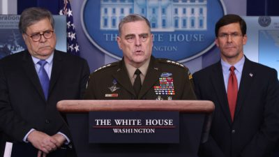 """Pentagon erwägt Maßnahmen gegen den Kreml sollte """"Kopfgeld""""-Behauptung stimmen"""