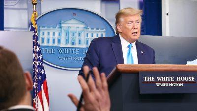 Trump kündigt Kürzung der WHO-Finanzierung an – Grund ist der Umgang mit China