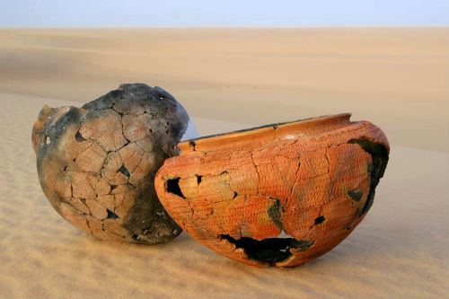 Keramik aus der Sahara