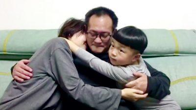 """""""Wie ein Traum"""": Tränenreiches Wiedersehen für chinesischen Menschenrechtsanwalt und seine Familie"""