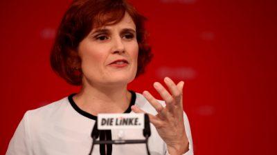 Linken-Chefin kritisiert Milieudebatte in ihrer Partei