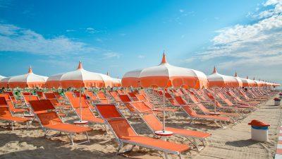 Italien kämpft um seinen Sommer-Tourismus: Trotz Corona sollen Urlauber höchsten Komfort erleben