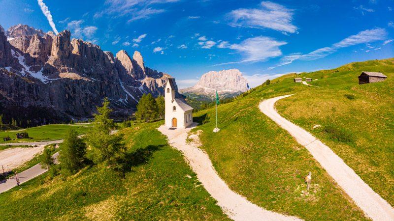 Osterfrieden in den Bergen Italiens