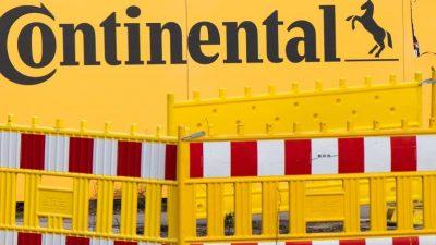 Über 40 Prozent der Conti-Produktion ruhen – Vorstand verzichtet auf Teil des Gehaltes