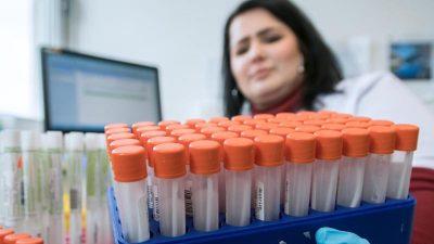 Corona-Krise: Labore in Deutschland arbeiten rund um dieUhr