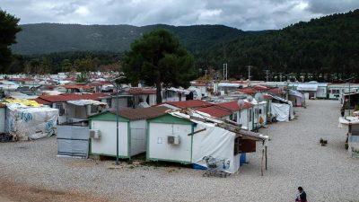 Griechenland verbietet zahlreichen NGOs die Arbeit in Flüchtlingslagern