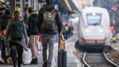 """Deutsche Bahn setzt bei Maskenpflicht auf """"Einsicht und Kommunikation"""""""