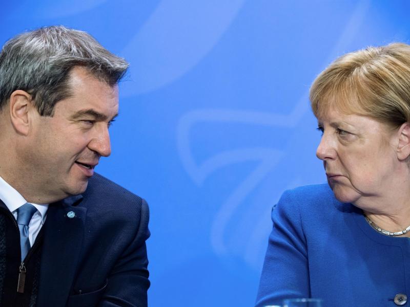 """CSU verzichtet auf eigenes Bundestagswahlprogramm """"Bayernplan"""""""