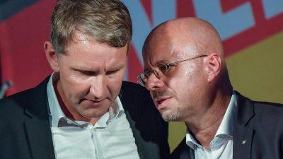 AfD-Vorstand missbilligt Höcke Äußerungen – jetzt soll Kalbitz seine Kontakte prüfen