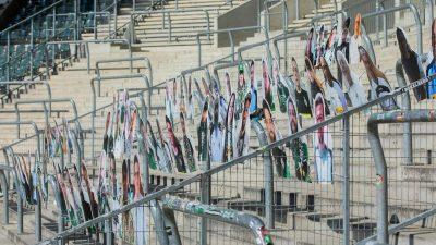 Geisterstimmung? Wie Fußball-Fans die Stimmung retten wollen