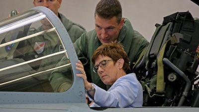 Eurofighter und F-18 sollen Tornado-Flotte ersetzen