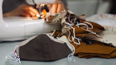 T-Shirt + Abendkleid: Das beste Material für DIY-Masken ist eine Kombination aus zwei Stoffen