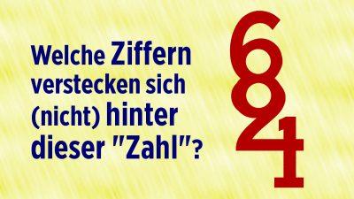 """Das 4er-Paradox deutscher Zahlwörter: Was versteckt sich (nicht) hinter dieser """"Zahl""""?"""
