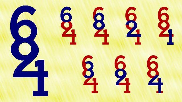 """Welche Ziffern verstecken sich hinter dieser """"Zahl""""?"""