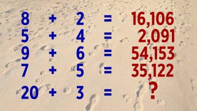 Mathe-IQ-Test: Wenn Sie überall Muster erkennen, sind Sie vielleicht ein Genie