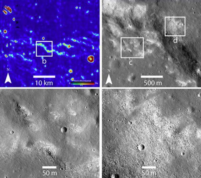 Plattentektonik auf dem Mond