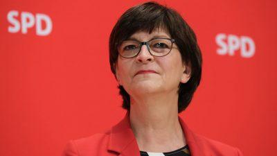 Esken finanziert den Einzelhandel durch ihre Diäten? SPD-Vorsitzende nach Tweet in der Kritik