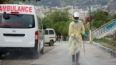 Corona-Pandemie im Newsticker 5.Mai: Huthi-Rebellen melden ersten Corona-Todesfall in Hauptstadt Sanaa