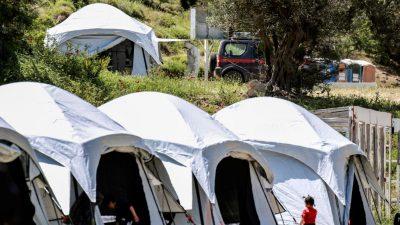 Corona-Krise in Griechenland: Ausgangssperre in Migrantenlagern bis 7. Juni verlängert