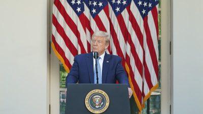 Trump unterzeichnet Erlass zur Förderung der Religionsfreiheit auf der ganzen Welt