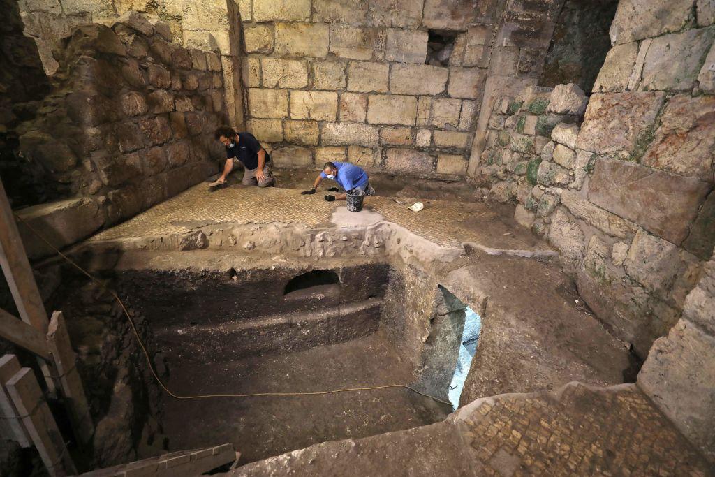 Archäologie: Drei unterirdische Räume nahe der Klagemauer aus der Römerzeit entdeckt