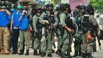 Gegen geplantes Sicherheitsgesetz: Tausende demonstrieren in Hongkong – Polizei setzt Tränengas ein