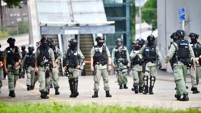 Sicherheitsgesetz: Erste Festnahme wegen Besitz der Unabhängigkeitsflagge – mindestens zehn Jahre Haft