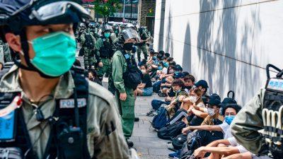 """Experten: Hongkong steht an der Spitze im Kampf """"zwischen der freien und der diktatorischen Welt"""""""