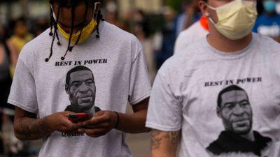 """Freundin von getötetem Schwarzen in Minneapolis: """"Er würde Gnade zeigen"""""""