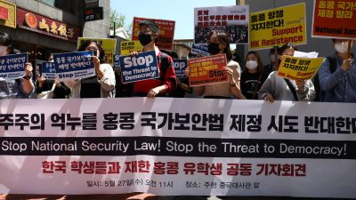 Hongkongs Sicherheitsgesetz: KP erstickt jeden Freiheitsgeist im Keim – Bundesregierung muss Kotau vor China beenden