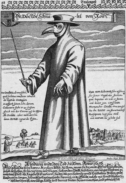 Pest-Arzt aus Rom