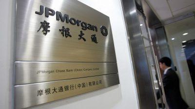 """""""Prinzlinge"""" und """"Bluttransfusionen"""": Die engen Verbindungen zwischen JPMorgan und der KP Chinas"""